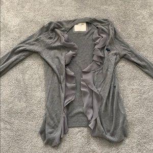 Super cute Abercrombie open sweater/ cardigan